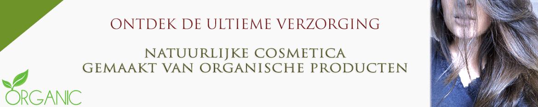 biologische cosmetica van natuurlijke organische producten