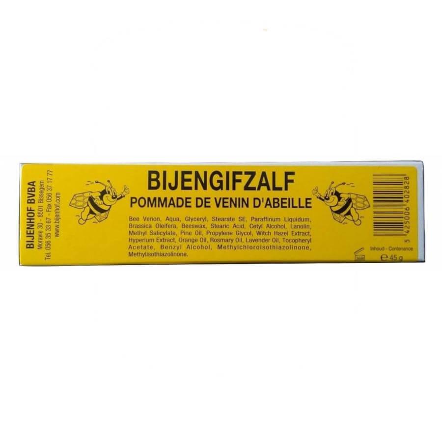 Bijengif zalf - Maakt spieren en gewrichten soepel, Bijengif geeft energie, beinvloedt de zenuwfuncties en werkt positief op spieren, pezen en gewrichten.