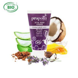 Cream for dry feet with Propolis - Lekkerhoning.nl
