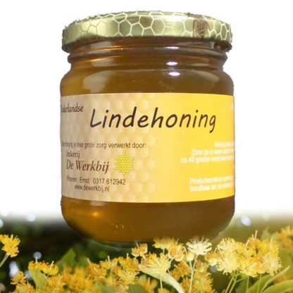 LIME HONEY FROM THE BEEKEEPER - LEKKERHONING.NL
