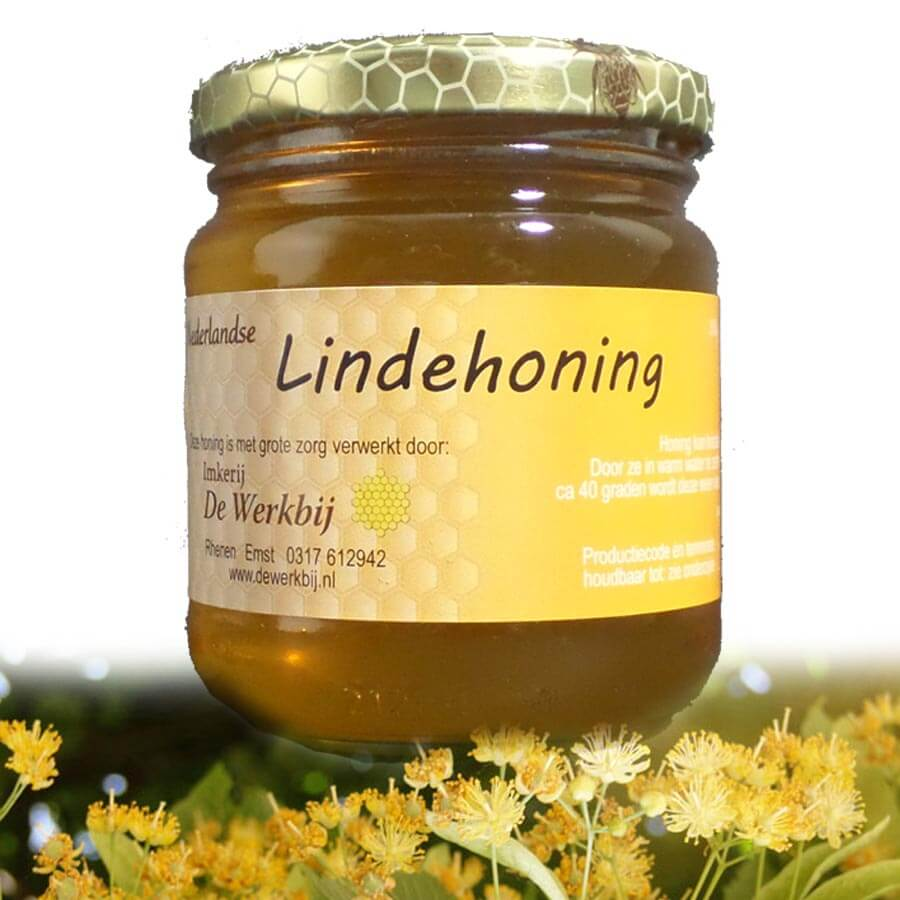 LINDEHONING VAN DE IMKER - LEKKERHONING.NL