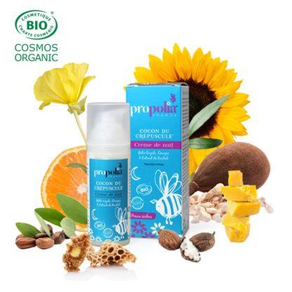 Night cream dry skin Bio - Lekkerhoning.nl
