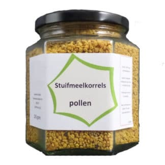 Pollen grains - Relief for Hay fever - Quality direct from the Beekeeper - order easily at Lekkerhoning.nl