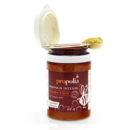 Ultra propolis powder - for daily use - order at Lekkerhoning.nl