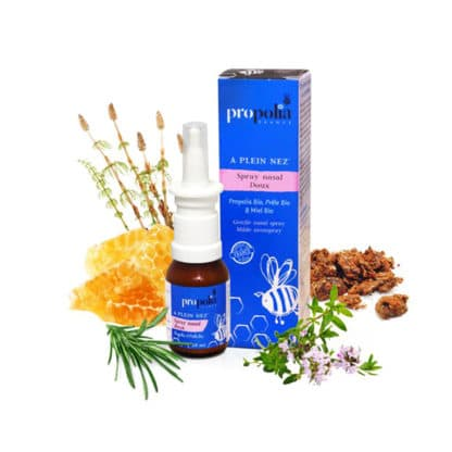 soft nasal spray with propolis - spray for the whole family - Lekkerhoning.nl