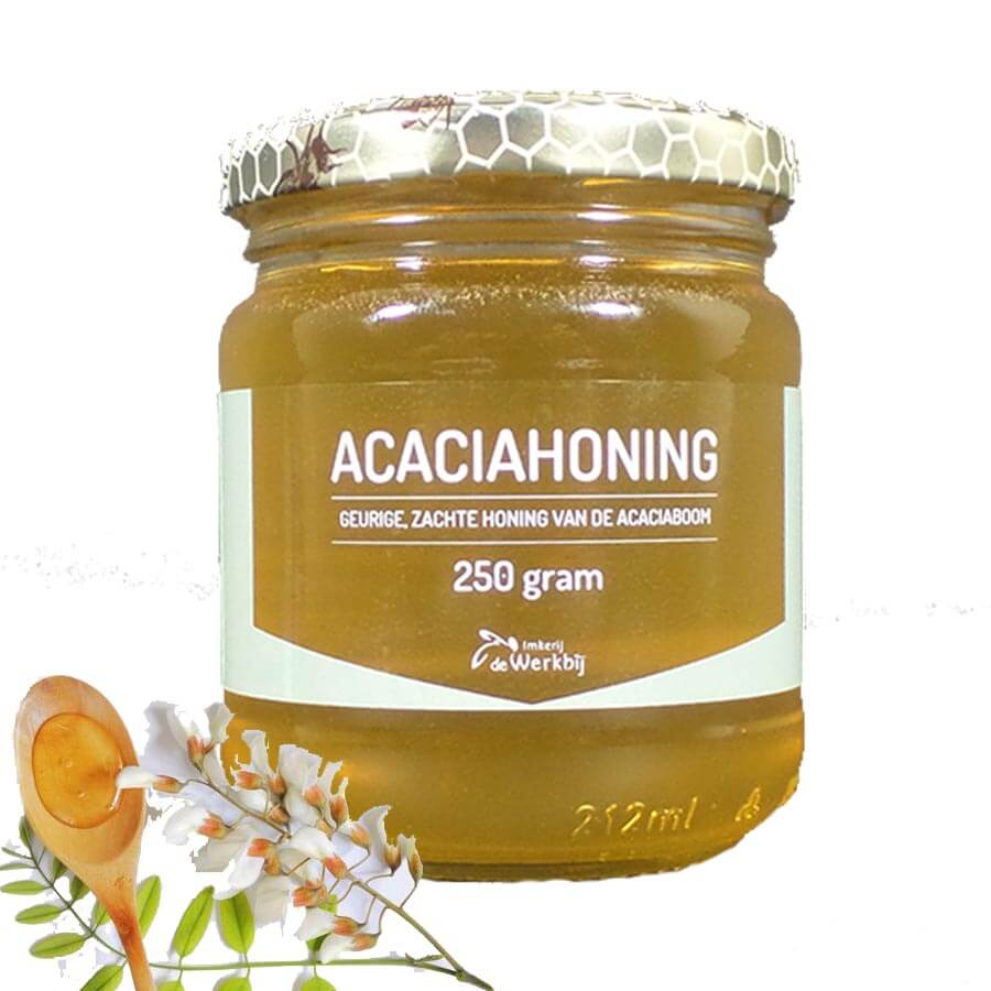 ACACIAHONING DIRECTLY FROM THE BEEKEEPER - LEKKERHONING.NL
