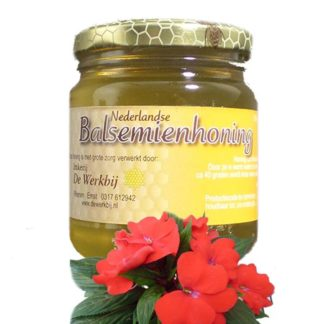 BALSAM HONEY FROM THE BEEKEEPER - LEKKERHONING.NL