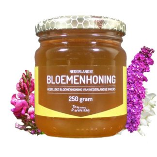 FLOWER HONEY FROM THE BEEKEER - LEKKERHONING.NL
