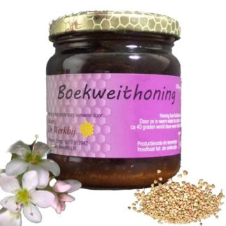 BUCKWHEAT HONEY FROM THE BEEKEEPER - LEKKERHONING.NL