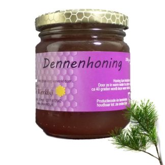 PINE HONEY FROM THE BEEKEEPER - LEKKERHONING.NL