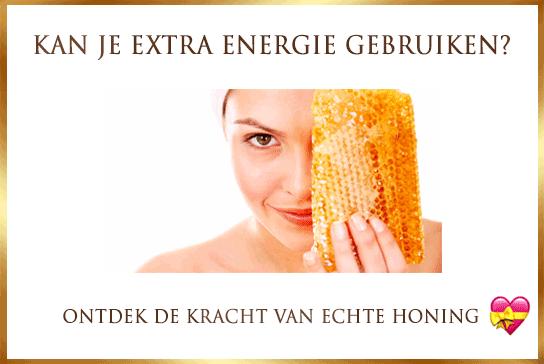 extra energie met honing