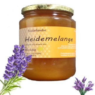 HEATHER HONEY MELANGE LIGHT SPICY TASTE - LEKKERHONING.NL