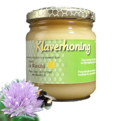 CLOVER HONEY FROM THE BEEKEEPER - LEKKERHONING.NL