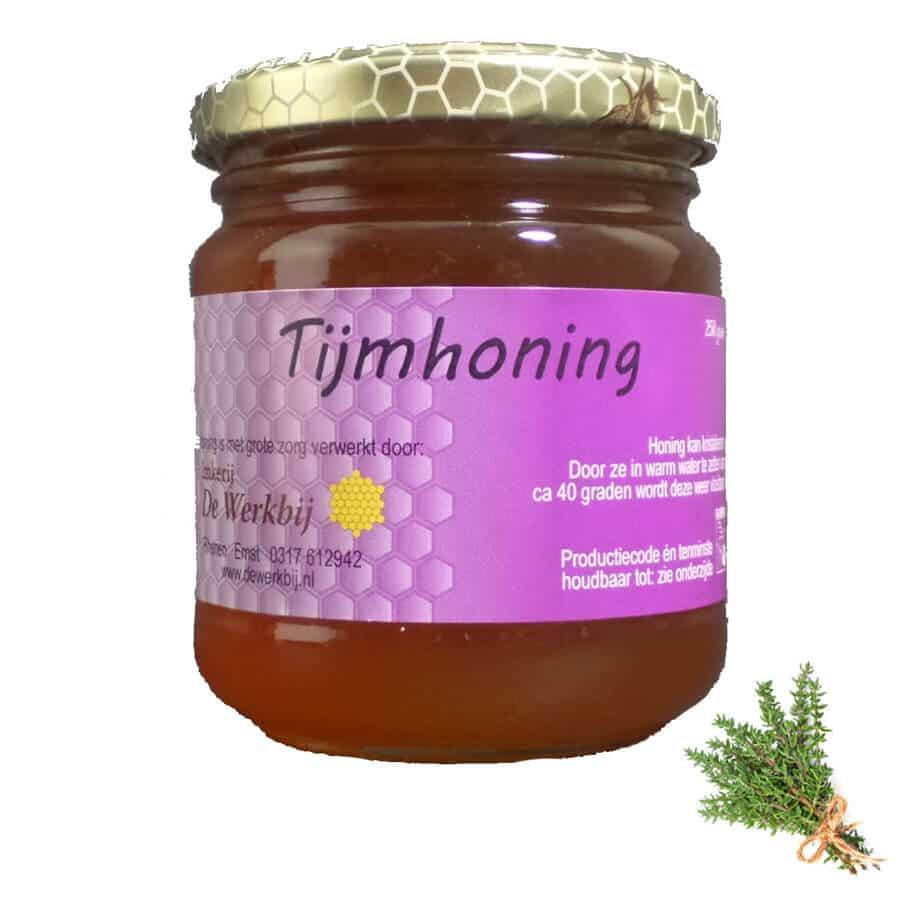 TIJMHONING VAN DE IMKER - LEKKERHONING.NL