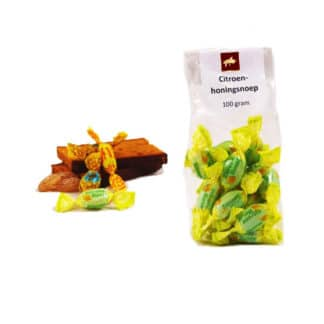 Lemon honey candy - Lekkerhoning.nl