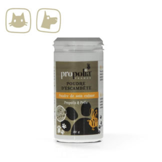 ANIMAL CARE SKIN CARE POWDER WITH PROPOLIS