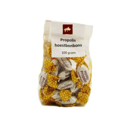 Propolis hoestbonbons kopen? - Beste kwaliteit bij Lekkerhoning.nl