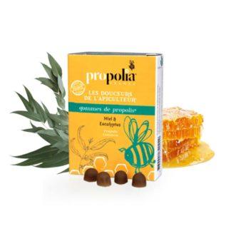 Propolis pastilles met eucalyptus - Lekkerhoning.nl