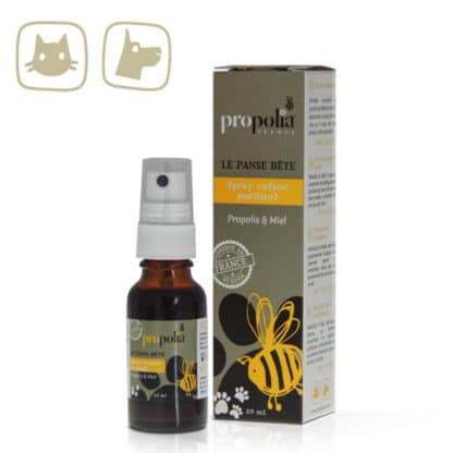 SKIN CLEANSING SPRAY WITH PROPOLIS FOR YOUR ANIMALS