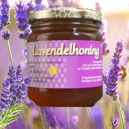 LAVENDER HONEY FROM THE BEEKEEPER - LEKKERHONING.NL
