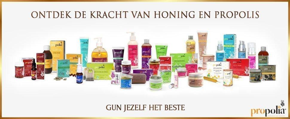 Propolia cosmetica met honing en propolis - Gun jezelf het beste