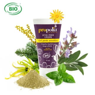 PROPOLIS GEL FOR SENSITIVE FEET - LEKKERHONING.NL