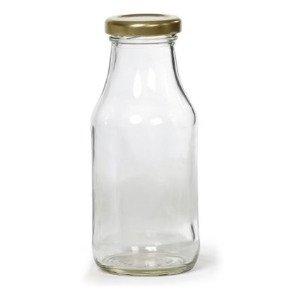 Glass Milk Bottle 1 liter (1050ml)