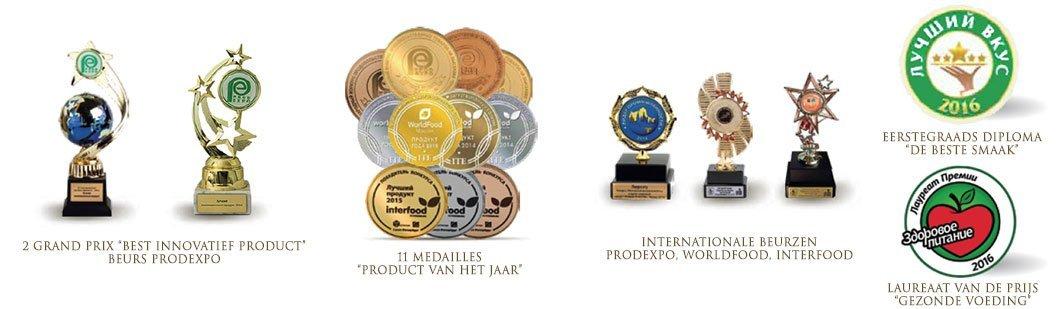Prijzen en erkenningen honing souffle - Lekkerhoning.nl
