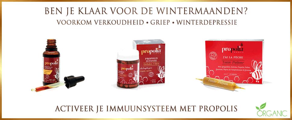 Activeer je immuunsysteem met propolis tegen wintermaandendepressie griep en verkoudheid