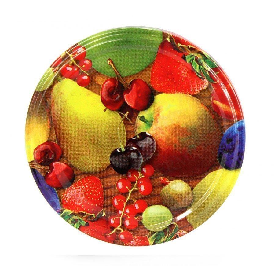Fruit Deksel - creëert vacuum bij warme producten -Hoog kwaliteit - Lekkerhoning.nl