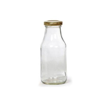 GLASS SAUCE BOTTLE - 150 ml EUROPEAN QUALITY