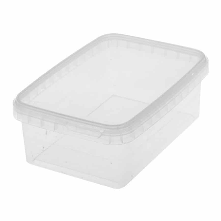 Luxe Plastic Bakje transparant