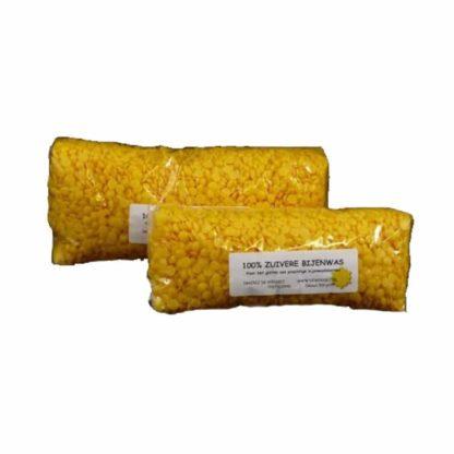zuivere bijenwas korrels pastilles
