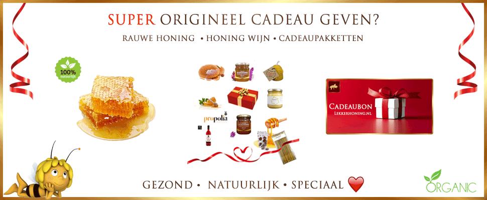 ORIGINEEL CADEAU VAN LEKKERHONING.NL