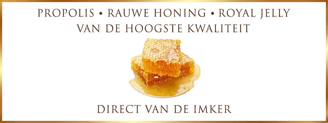 Natuurlijke rauwe honing, Bio Propolis en Royal Jelly Direct van de imker - Lekkerhoning.nl