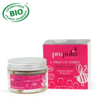 Honey ointment Bio - active healing balm with honey and propolis