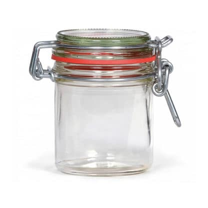 weck storage jar 125 ml tray of 6 pieces - Lekkerhoning.nl