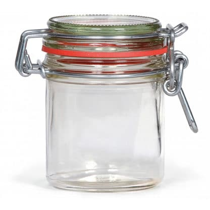 weck storage jar 167ml tray of 6 pieces - Lekkerhoning.nl