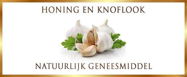 Honing en knoflook - natuurlijk geneesmiddel - Recept op Lekkerhoning.nl