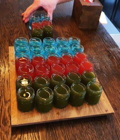 potje voor een cocktail shot - bestel bij Lekkerhoning.nl
