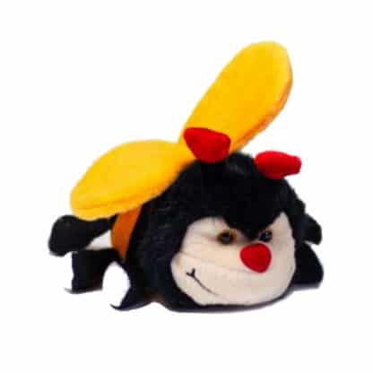 Plush bee cuddle toy 15 cm - Toys for children good quality - Lekkerhoning.nl
