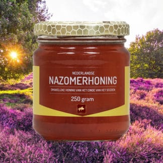 Late Summer Honey Sovereign Dutch quality! Do you want to taste it? - order online at Lekkerhoning.nl